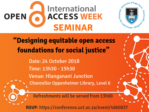 Open Access Week Seminar